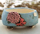 국산手工花盆#25128_Handmade 'Flower pot'