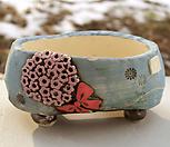 국산手工花盆#25130_Handmade 'Flower pot'