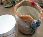 4번手工花盆흑진주_Handmade 'Flower pot'