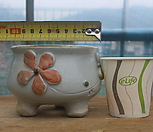 냥이手工花盆1113_Handmade 'Flower pot'