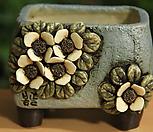 手工花盆사각분02_Handmade 'Flower pot'