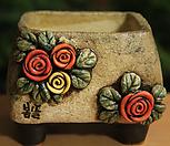 手工花盆사각분03_Handmade 'Flower pot'