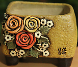 手工花盆사각분07_Handmade 'Flower pot'