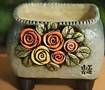手工花盆사각분13_Handmade 'Flower pot'