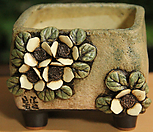 手工花盆사각분15_Handmade 'Flower pot'