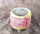 手工花盆-B013_Handmade 'Flower pot'