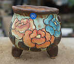 手工花盆80_Handmade 'Flower pot'