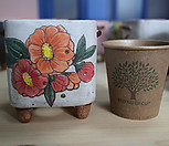 설렘手工花盆101910_Handmade 'Flower pot'