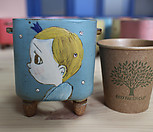 설렘手工花盆101925_Handmade 'Flower pot'