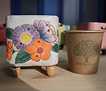 설렘手工花盆101927_Handmade 'Flower pot'