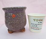 수제화분 돌가루분7cm(옥색)