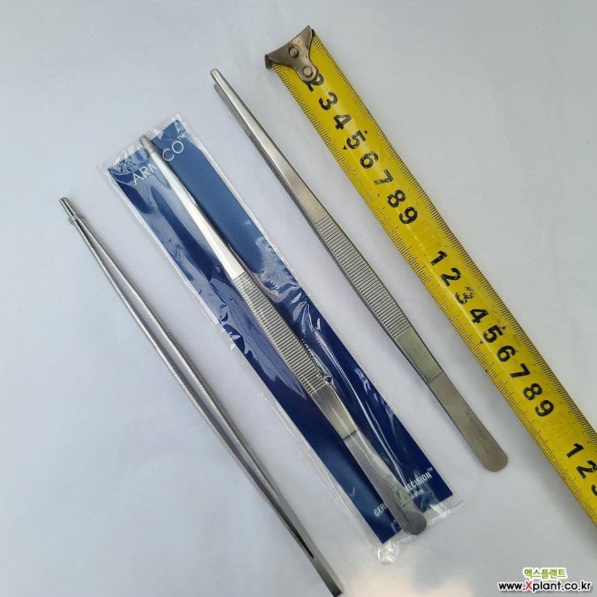 핀셋 (일자형 중)20cm