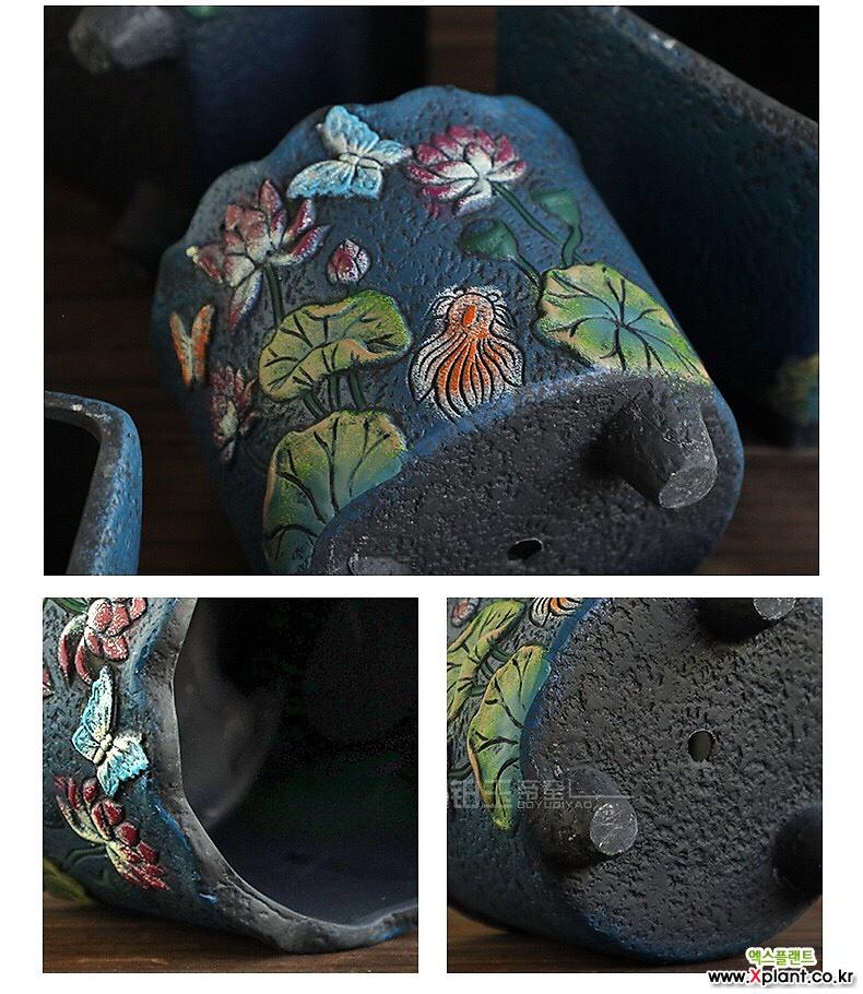 프롬수제꽃분 다이카페 수제화분 인테리어화분 수제꽃분