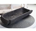 특대형 - 기와화분 돌화분 화산석 화분 감성도예 - YXL - 특대형 - 둥근 직사각형 - 화산석(돌) 화분(기와 화분) 다육모둠