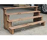 다육이화분정리대 다육이진열대 천연목재사용 다육이선반 (무료배송)