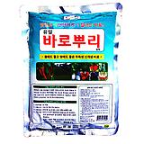 유일 바로뿌리입제 1kg-친환경 유기농 비료 안전퇴비 식물영양제 화분에 바로사용