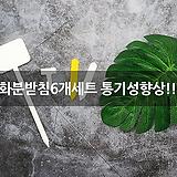 화분받침6개세트 통기성향상!!|