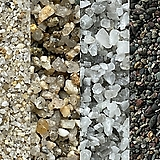 엑스플랜트 3키로 모래 금사 은사 오색사 흑사 다육장식 어항바닥재 다육이 수족관 조경|