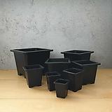 사각플분 B타입 1호-8호 튼튼화분 사각플라스틱화분