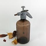 자동 압축 물조리개 (2L) 브라운 화분 물주기 자동 분사 물조루