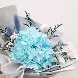 꽃파는농부 - 프리저브드 플라워 미니꽃다발(수국/블루)|