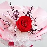 꽃파는농부 - 프리저브드 플라워 미니꽃다발(장미/레드)|