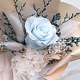 꽃파는농부 - 프리저브드 플라워 미니꽃다발(장미/블루)|