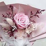 꽃파는농부 - 프리저브드 플라워 미니꽃다발(장미/핑크)|