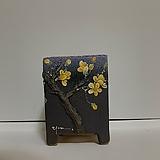 나무장식 - 퍼플(옐로매화)|