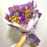 프리저버드 꽃다발 퍼플혼합L|