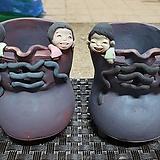 귀여운  토우화분  -  신발 모먕  개당가격|