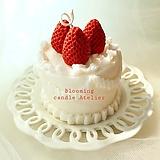 딸기케이크 캔들|