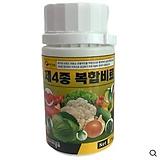 주말농장 전용 소포장 채가원 비료- 제4종복합비료 100g 