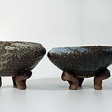 [그리닝홈]18cm 굽다리 랜덤색상 화분 k30 