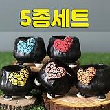 국산수제화분 도향140(5종세트)|