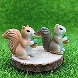 도토리 다람쥐2 (화분데코) 