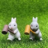 망치 토끼 (화분데코)  