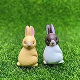 옆면 토끼 (화분데코) 
