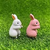 손 뻗는 토끼 (화분데코) 