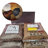다육이 분갈이흙 2kg세트 (세척마사/깔망/이름표)