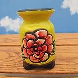 수제롱꽃분노랑색|