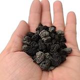 화산석 흑색 (대립1kg)|