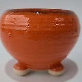 수제화분 여주공방 칼라분(외경12cm) 오렌지 