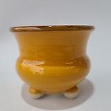 수제화분 여주공방 칼라분(외경12cm) 엘로우 