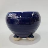 수제화분 여주공방 칼라분(외경12cm) 블루 
