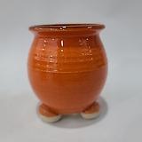 수제화분 여주공방 칼라분(높이10cm) 오렌지 