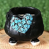 국산수제화분 도향140(블루)