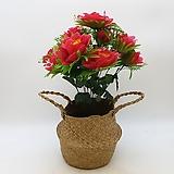 빨간색 조화-명절 성묘용 꽃다발|