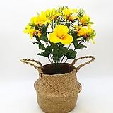 노란색 조화-명절 성묘용 꽃다발|