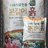 큰사이즈,다육식물전용토/ 5배용량/ 단독배송 약 8.8kg|